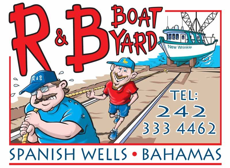 R & B Boatyard Graphic