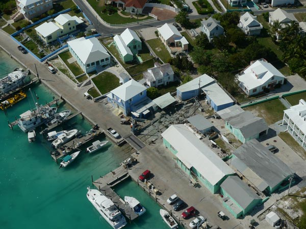 Aerial of R & B Boatyard